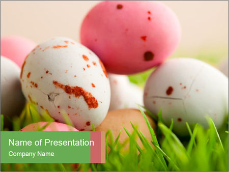 Eggs Decoration PowerPoint Template