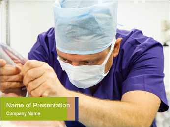 Anesthesiologist PowerPoint Template