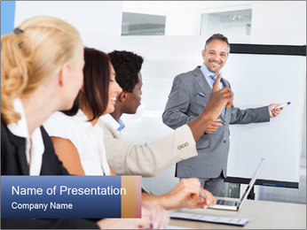 Business Speaker Шаблоны презентаций PowerPoint