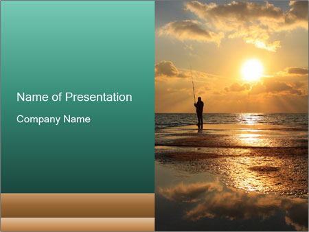 Fisherman PowerPoint Template