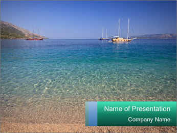 Mediterranean Beach PowerPoint Template