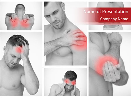 Body Pain PowerPoint Template
