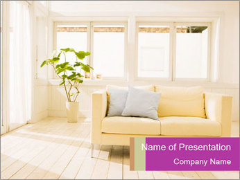 Contemporary Interior Design PowerPoint Template