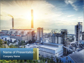 Industrial City PowerPoint Template