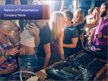 Fun Party PowerPoint sunum şablonları
