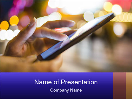 Mobile Phone PowerPoint Template