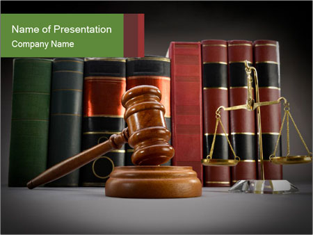 Law Books Powerpoint Template Infographics Slides
