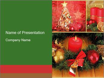 Holiday Collage Plantillas de Presentaciones PowerPoint