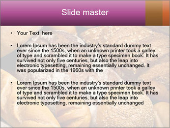 Baked bread PowerPoint Template