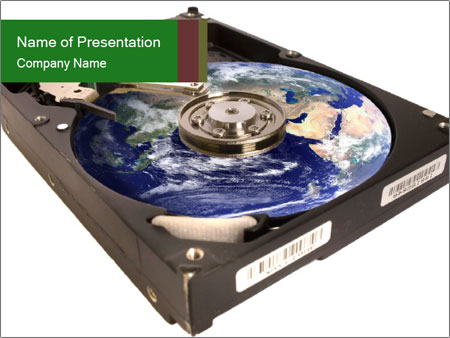 Hard Disk Drive PowerPoint Template