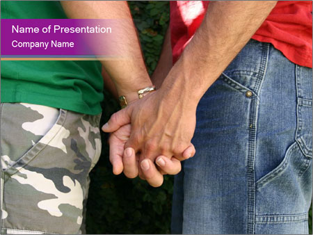 Men gay PowerPoint sunum şablonları