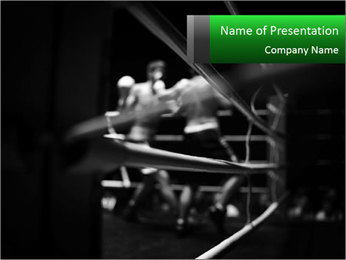 Black and white picture PowerPoint Template