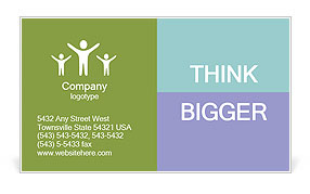 0000098607 Business Card Template