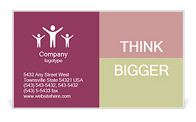 0000098678 Business Card Template