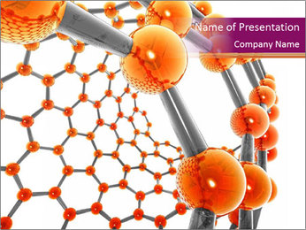 Nanotechnology Powerpoint Template Smiletemplates Com